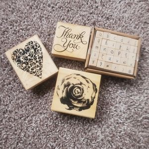 Rubber stamp bundle
